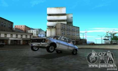 Zastava Stojadin pour GTA San Andreas vue arrière