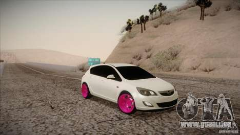 Opel Astra 2010 für GTA San Andreas rechten Ansicht