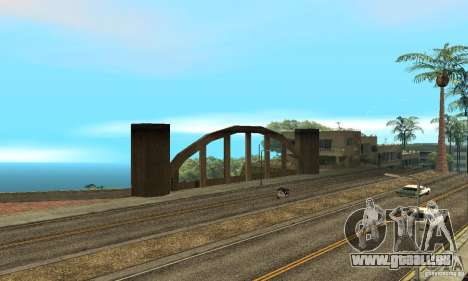Grove Street 2013 v1 pour GTA San Andreas neuvième écran