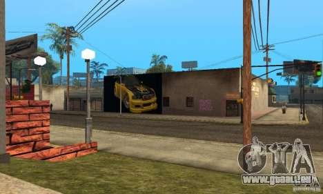 Grove Street 2013 v1 pour GTA San Andreas troisième écran