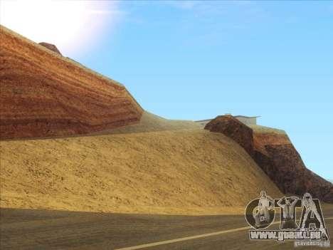 HQ Country Desert v1.3 pour GTA San Andreas deuxième écran