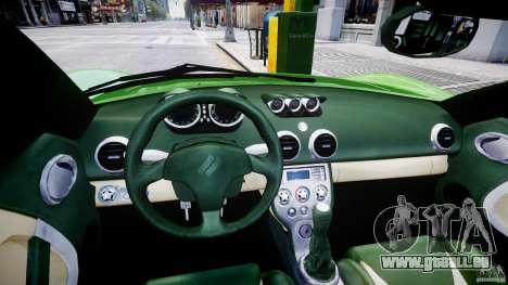 Ascari KZ-1 pour GTA 4 Vue arrière