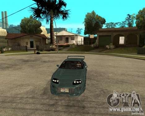 Toyota Supra Veilside pour GTA San Andreas vue arrière