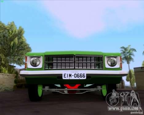 Chevrolet Opala 6CC 1979 pour GTA San Andreas laissé vue