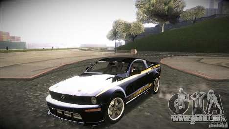 Shelby GT500 Terlingua pour GTA San Andreas vue intérieure