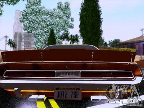 Dodge Challenger HEMI für GTA San Andreas linke Ansicht