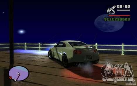 ENBseries by Gasilovo pour GTA San Andreas deuxième écran