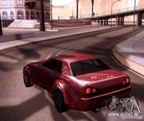 Elegy Wide Body für GTA San Andreas rechten Ansicht
