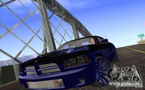 Dodge Charger SRT 8 pour GTA San Andreas vue de côté