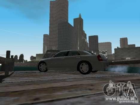 Chrysler 300C HEMI 5.7 2009 pour GTA San Andreas vue intérieure