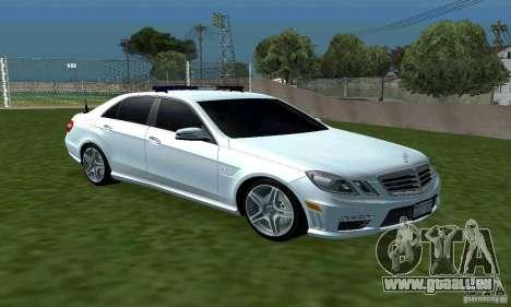 Mercedes-Benz E63 DPS für GTA San Andreas Rückansicht