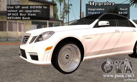 Wheels Pack by EMZone pour GTA San Andreas deuxième écran