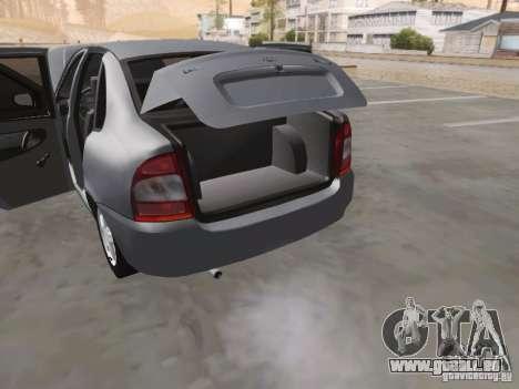 LADA Kalina Limousine für GTA San Andreas obere Ansicht