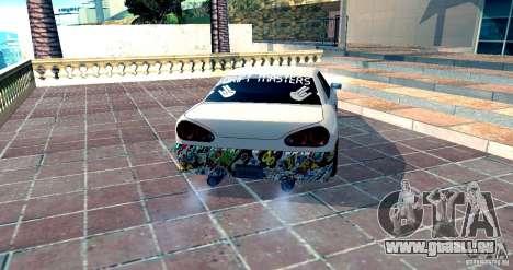 Elegy Drift Masters v0.2 pour GTA San Andreas laissé vue