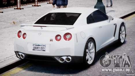 Nissan Skyline GT-R R35 pour GTA 4 est un côté
