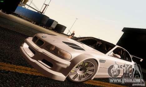 BMW M3 GTR v2.0 pour GTA San Andreas
