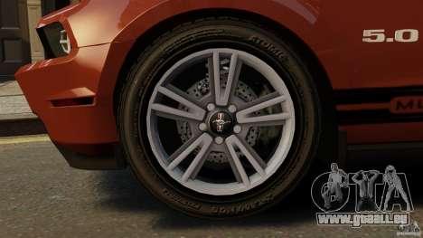 Ford Mustang GT 2011 für GTA 4 Seitenansicht