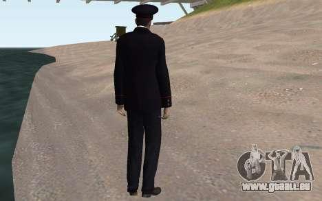 Das Innenministerium-Officer für GTA San Andreas fünften Screenshot