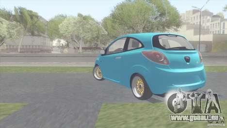 Ford Ka Stance Perry Edtion pour GTA San Andreas vue de droite