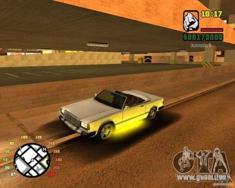 Extreme Car Mod SA:MP version pour GTA San Andreas quatrième écran