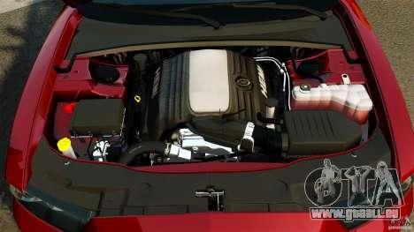 Dodge Charger RT Max FBI 2011 [ELS] pour GTA 4 vue de dessus