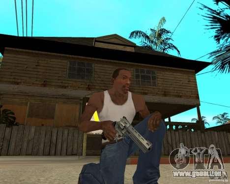 Magnum 22,2 pour GTA San Andreas deuxième écran