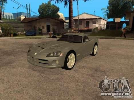 Dodge Viper Coupe 2008 für GTA San Andreas