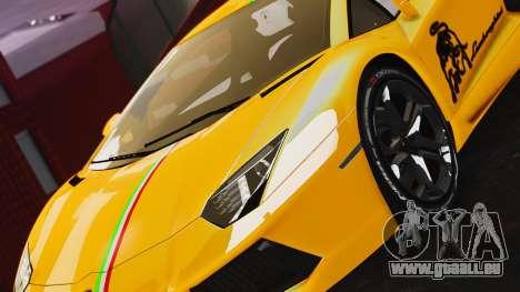 Lamborghini Aventador LP700-4 2012 für GTA 4 hinten links Ansicht