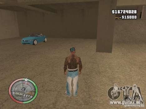 Car shop für GTA San Andreas her Screenshot