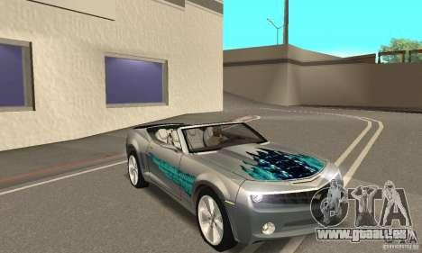 Chevrolet Camaro Concept 2007 pour GTA San Andreas moteur