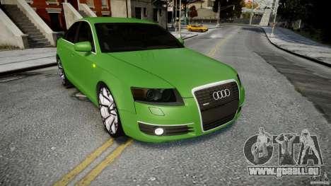 Audi A6 TDI 3.0 für GTA 4 Seitenansicht