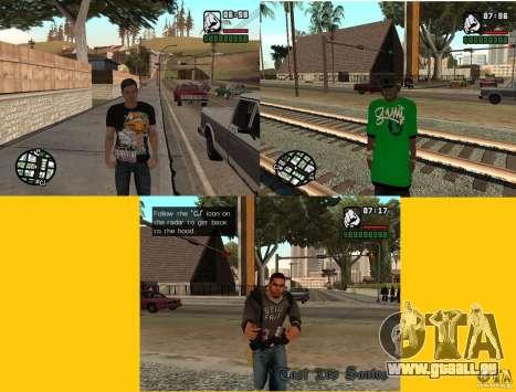 remplacement de peau 3 Cj pour GTA San Andreas