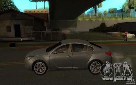 Opel Insignia 2011 für GTA San Andreas linke Ansicht