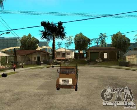 ZIL-433362 Extra Pack 1 pour GTA San Andreas vue de dessus