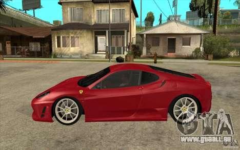 Ferrari F430 Scuderia pour GTA San Andreas laissé vue