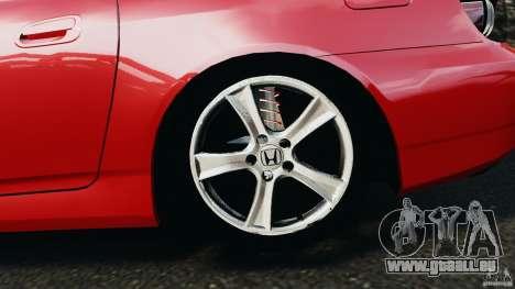 Honda S2000 v1.1 für GTA 4 Innenansicht