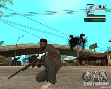 Scharfschützengewehr für GTA San Andreas zweiten Screenshot