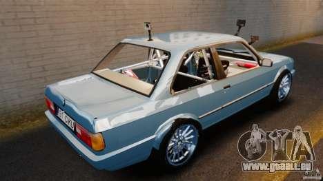 BMW E30 V8 Drift pour GTA 4 Vue arrière de la gauche
