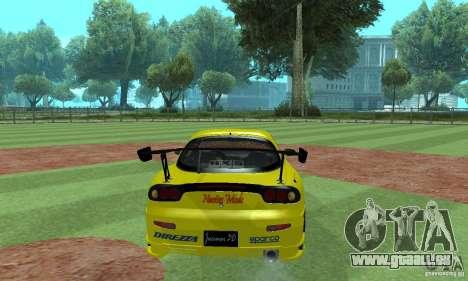 Mazda Rx7 für GTA San Andreas linke Ansicht