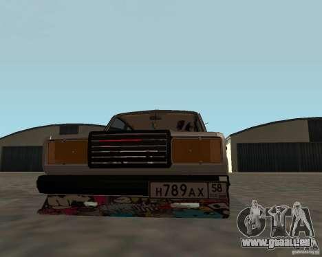 VAZ 2107 JDM pour GTA San Andreas vue de droite