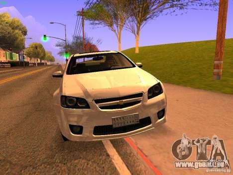 Chevrolet Lumina pour GTA San Andreas vue intérieure