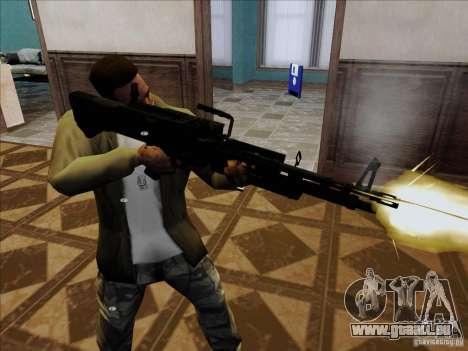 M60E4 pour GTA San Andreas deuxième écran