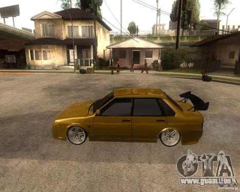 VAZ 21099 voiture Tuning pour GTA San Andreas laissé vue