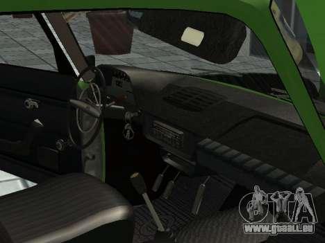 IZH Combi 21251 pour GTA San Andreas vue arrière