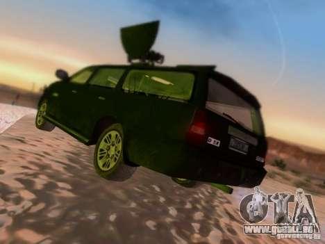 Suv Call Of Duty Modern Warfare 3 für GTA San Andreas rechten Ansicht