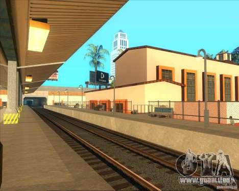 Les plates-formes élevées dans les gares pour GTA San Andreas