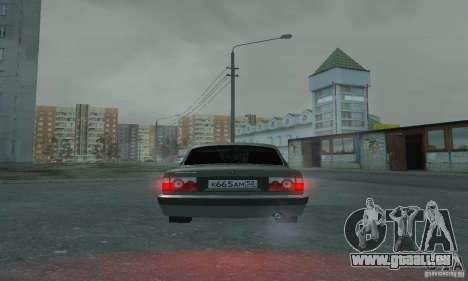 GAZ 3110 pour GTA San Andreas vue intérieure