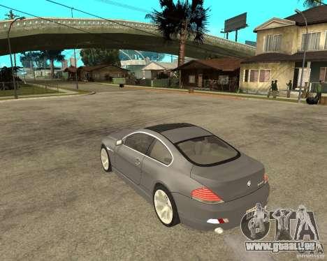 BMW 645Ci 04 für GTA San Andreas linke Ansicht