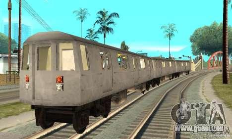 Liberty City Train GTA3 für GTA San Andreas