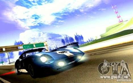 Shelby Cobra Daytona Coupe v 1.0 pour GTA San Andreas sur la vue arrière gauche